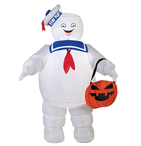 Gemmy Ghostbusters Airblown Stay Puft Marshmallow Man Lighted