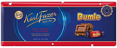 Karl Fazer soft Toffee in Milk Chocolate mit Dumle 250g
