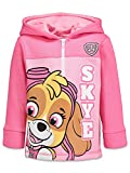Paw Patrol Skye Toddler Girls Fleece Half-Zip Sweatshirt Pullover Hoodie Pink 4T
