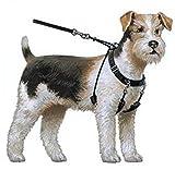 Dog Halter–non-pull no-choke Humane Pet training Halter Harness, easy step-in gilet collare cavezza per controllo, staccabile Restraints & Sherpa maniche, tecnologia brevettata Dog Pull Control by Sporn