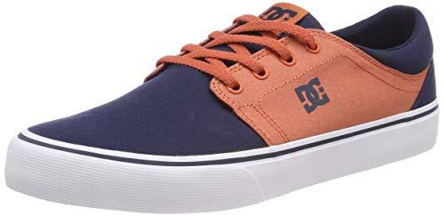 DC Shoes Herren Trase TX Skateboardschuhe, Blau (Indigo IND), 43 EU