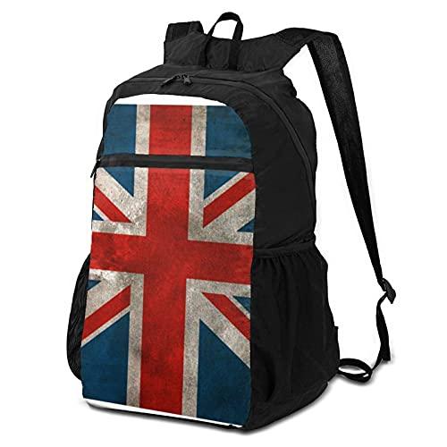 Mochila escolar de almacenamiento para ordenador portátil, mochila británica, mochila de negocios, mochila de viaje para senderismo, mochila universitaria