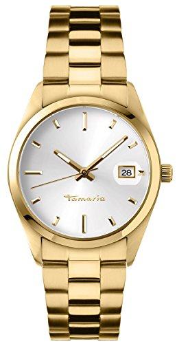 Tamaris Damen-Armbanduhr Karen Analog Quarz Edelstahl B03101000