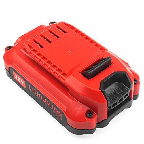 ADVNOVO 20V 3000mAh CMCB204 Battery Compatible with Craftsman 20V MAX Lithium Ion Battery CMCB202 Craftsman V20 Lithium Ion Battery