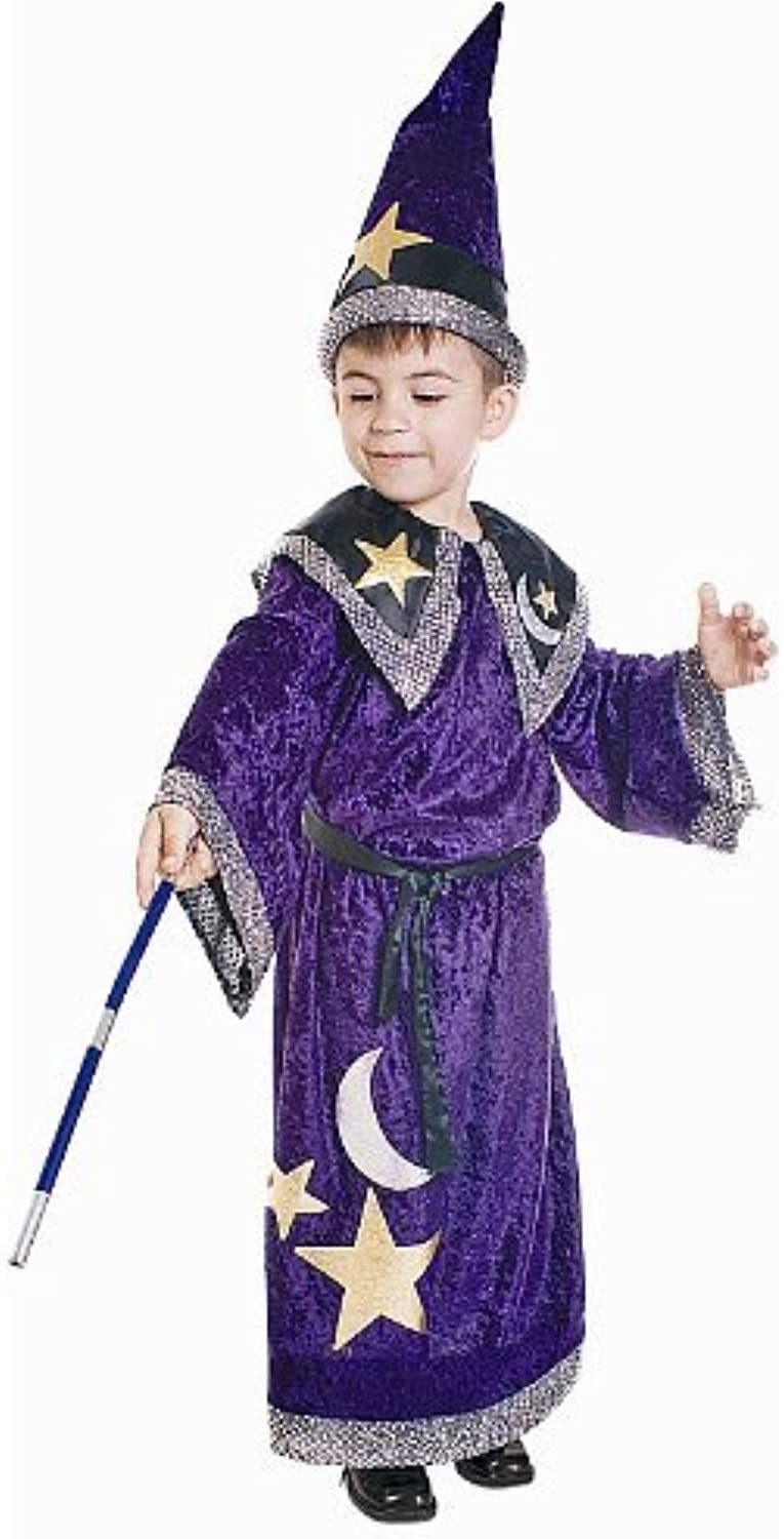 Dress up America Toddler T4 Magic Wizard Costume Set by Dress Up America