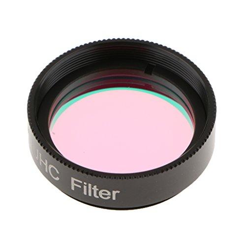 P Prettyia Filtro óptico Reducción Contaminación Lumínica UHC Ocular Telescopio Accesorios de Fotografía y Cámaras