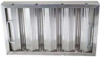 CHG (Component Hardware Group) F35-1020 Baffle-Type Grease Filter W/Handles Galvanized 10