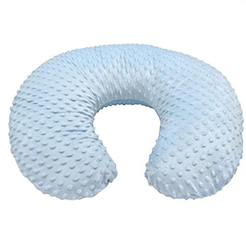 Cubierta de Almohada de enfermería para bebés Forma de cojín de Forma U Soft Forma de U de Abertura Trasera Sky Blue Blue Potable DIY Herramienta