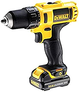 Dewalt Compact Drill Driver with 1.5Ah Battery, Yellow/Black, Dcd771S2