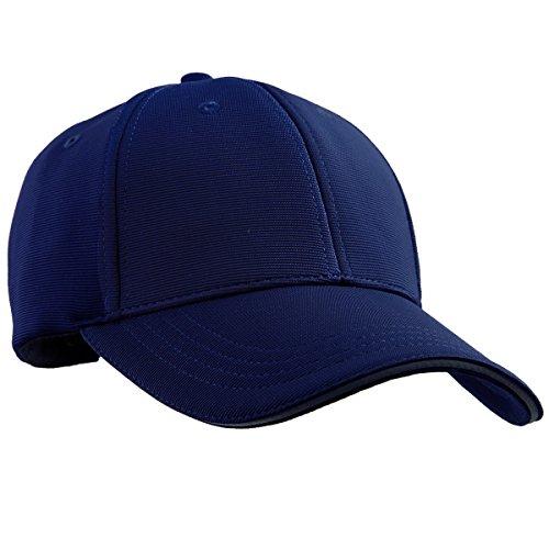 squaregarden Gorras de béisbol para Los Hombres Y Las Mujeres, Visera Ajustable Deportes Sombreros, Azul Marino