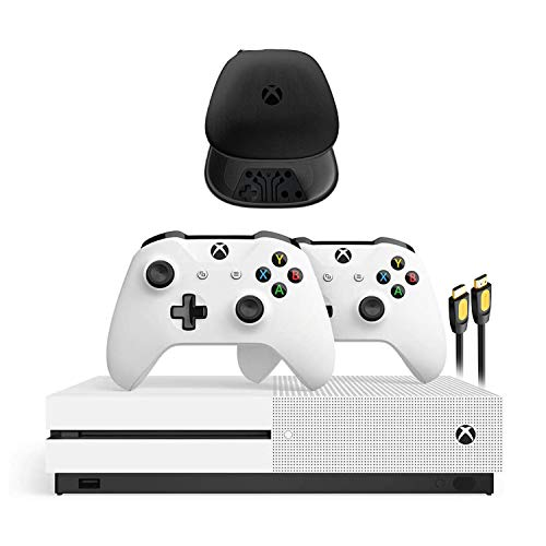 Xbox One S 1TB HDD with Two Wire...