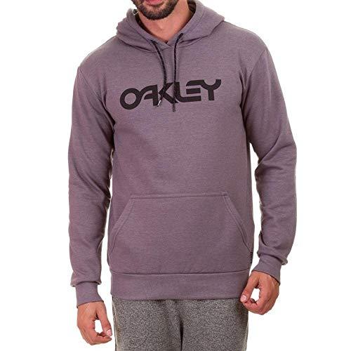 Moletom Oakley Fechado Mark Ii Pullover Masculino Cinza