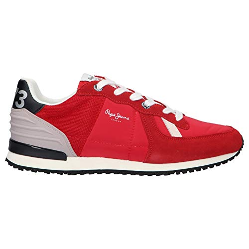 Pepe Jeans Zapatillas Deporte Pms30621 Tinker Wer 255 Red 46 para Hombre