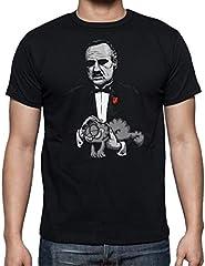 Camiseta de Hombre Mezclas Divertidas Peliculas Gato El Padrino Divertida