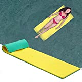 B/C Splash Floating Water Mat, Comfortable Smooth Floating Pad Pool Toy, Ultimate Swimming Pool Foam Floating Mattress for Lake, Pool Ocean(66.93x21.65x0.86inch)