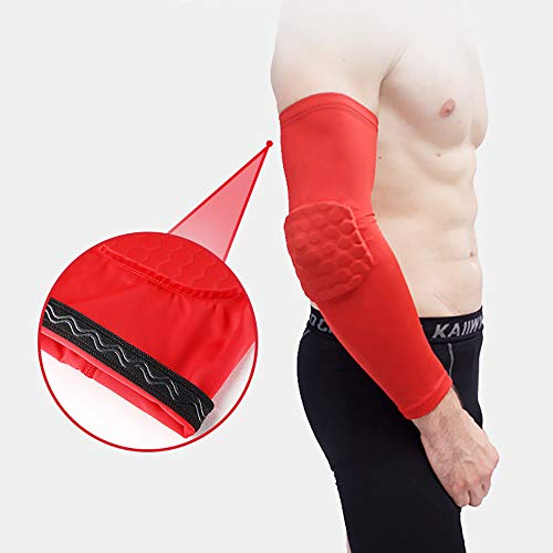 Omenluck 1 Pair Elbow Support Sleeve Warm Elbow Shoulder For Tennis Golf Football Basketball Volleyball Arm Sleeves