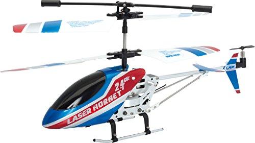 LRP Electronic LaserHornet Koaxial Helikopter RTF, 180 mm, blau / weiß
