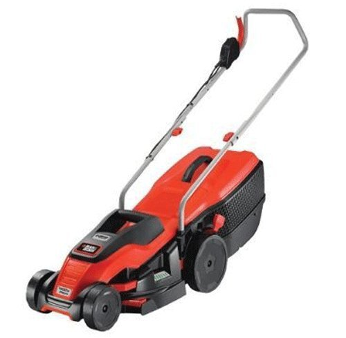 BLACK+DECKER 1400W Edge-Max Lawn Mower with 34 cm Cut/40 L Box