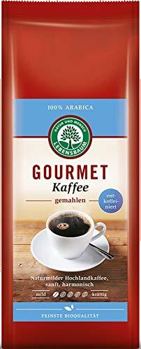 Lebensbaum Bio Gourmet Kaffee, entkoffeiniert, gemahlen (2 x 250 gr)