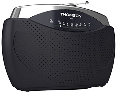 Thomson RT222 AM/FM-Radio schwarz/Silber