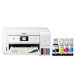 Epson strongly recommends the use of Genuine Epson inks for a quality printing experience. Non Epson inks and inks not formulated for your specific printer may cause damage that is not covered by the Epson Epson EcoTank is the #1 Best Selling Superta...
