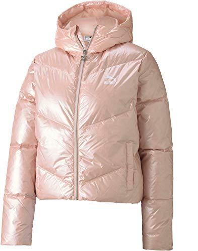 PUMA Damen Classics Steppjacke rosa XS