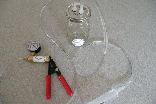 Milk Machine Vacuum-Manual Pulse Manual Pump Goat, Sheep, Cow One Quart One Teat Patent US9,635,830 B2