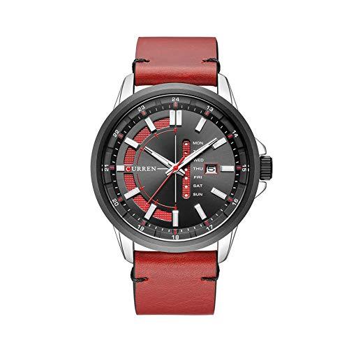 Curren 8307 - Orologio da polso da uomo, con display settimanale,...