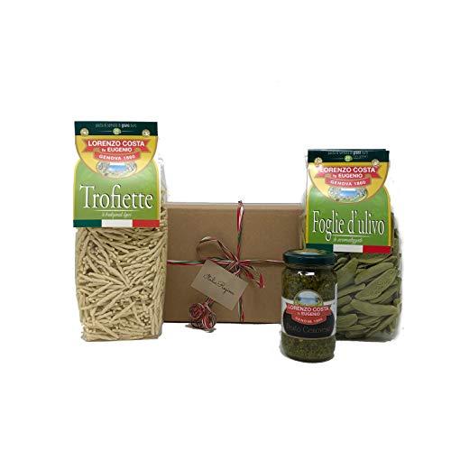 Nudeln mit Geonese Pesto 150 gr