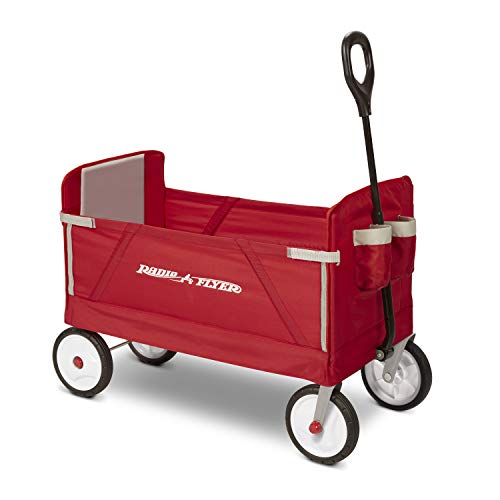 Radio Flyer Folding Wagon for kids and cargo, $89.99 on sale for $69.00!