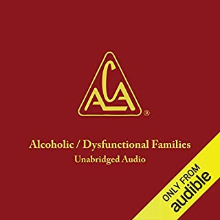 Adult Children of Alcoholics/Dysfunctional Families audiobook cover art