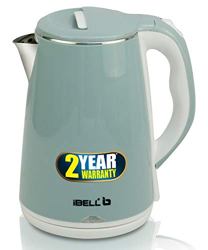 iBELL SEK20L Premium Electric Kettle, 2 Ltr, 1500W (Inside Stainless Steel & Wire Length 0.85 Mtr)