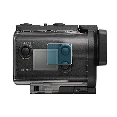 Vaxson 3-Pack Anti Luce Blu TPU Pellicola Protettiva, compatibile con Sony HDR-AS50, Screen Protector Film [ Non Vetro Temperato ]