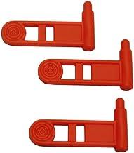 ERGO Grip Safety Chamber Flag, Set of 3, Orange, Pistol Safety Empty Chamber Flag