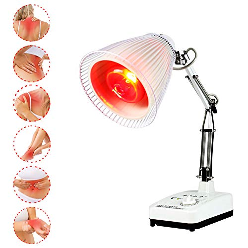 Great Features Of DXFK.AM Infrared Heat Lamp, Red Light Therapy Near Infrared Heat Lamp Bulb 100W fo...