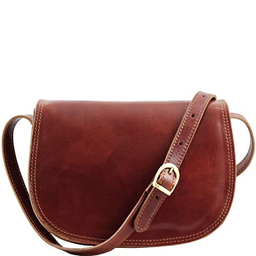 Tuscany Leather Isabella Borsa in pelle da donna Marrone