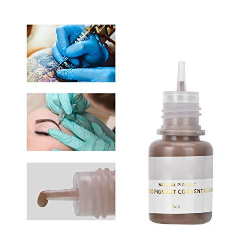 8ml Semi Permanent Make up Tattoo Ink, Sicheres Tattoo Tinten Microblading Pigmente für Augenbraue und Eyeliner