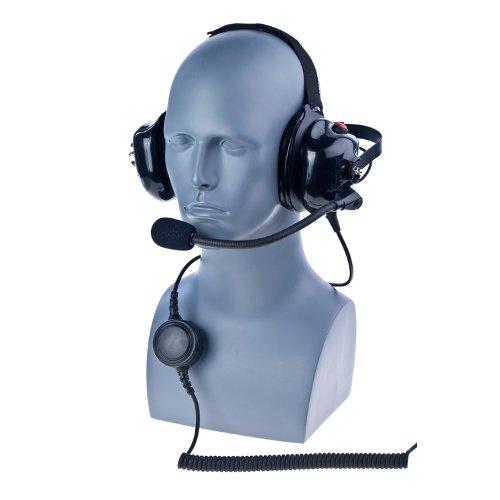 Great Price! Impact K1-PDM-1-NC BTH Dual Muff Headset for Kenwood TK TH + NexEdge Radios