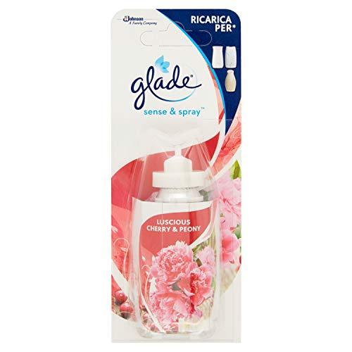 Glade Sense & Spray Ricarica Luscious Cherry & Peony, 18 ml