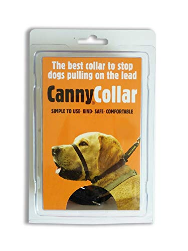 Canny Collar, Collar Antitirones, Talla 3, Negro