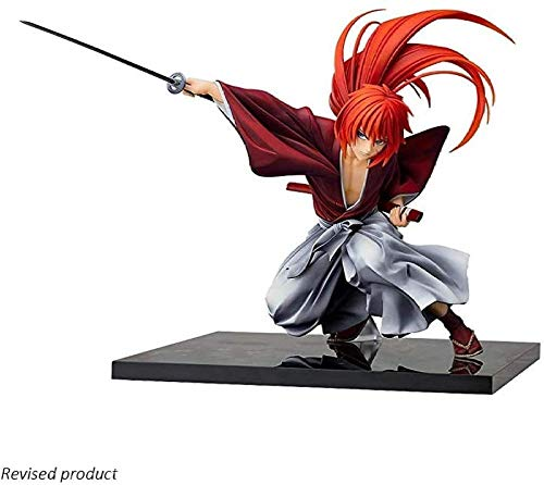 UanPlee-SC Anime-Charaktere Rurouni Kenshin: Romantische Geschichte des Meiji-Schwertkämpfers: PVC-Figur Kenshin Himura FM283
