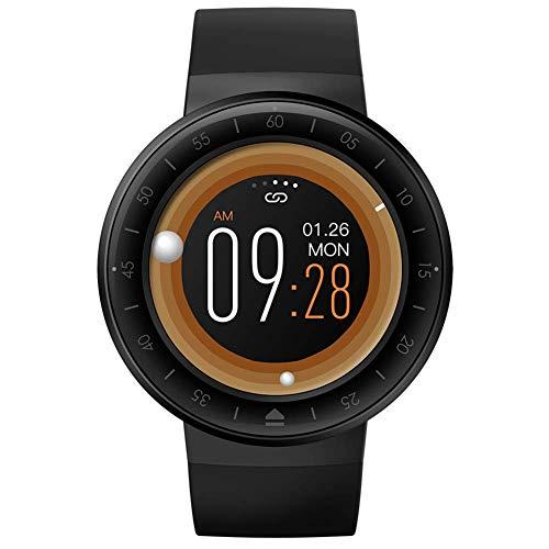 Reloj inteligente para Android Phone IOS, Fitness Tracker IP67, impermeable, reloj inteligente con pulsómetro, fitness, reloj compatible para mujeres y hombres, negro