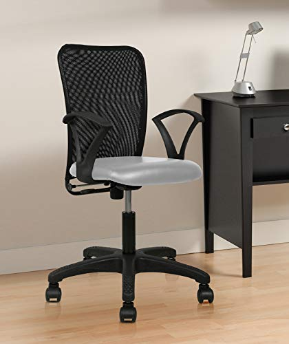 TIMBER CHEESE Ergonomic MESH Chair (with Warranty) Make in India Concept in Black MESH (White)