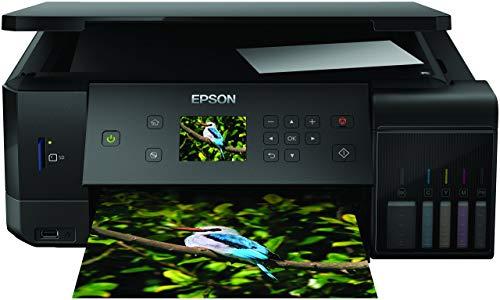 Epson EcoTank ET-7700 Stampante 3-in-1, Stampa Fronte Retro, Copia e Scansione, Connettività Wi-Fi e App, LCD da 6.8 cm