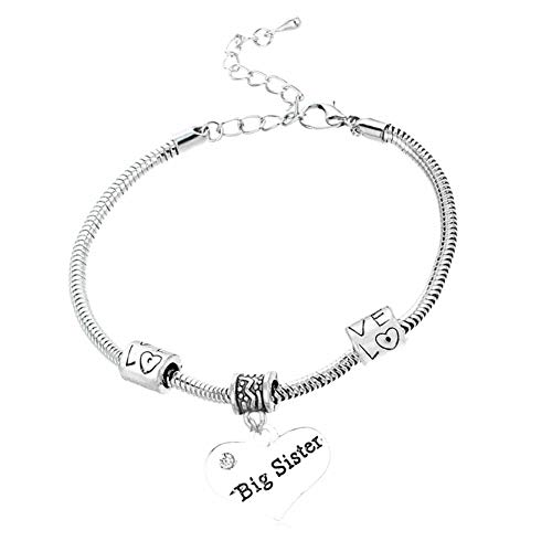 Cheaonglove Mummy Bracelet Mum Bracelet Gifts for Mum On Her Birthday Mam Bracelet Mother and Daughter Bracelets Daughter Gifts Presents for Mum Big sis