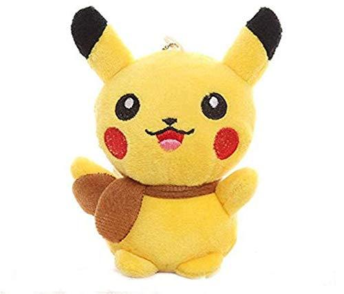 Knuffel 13 Cm Pluche Knuffel Pikachu Gift Knuffel Pop Pikachu Hanger Gift Toy Doll Picacho