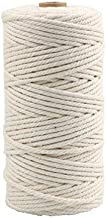 656 Feet 3mm Thick Cotton Kitchen Cooking String, Butchers Twine, Strong, (Natural White)