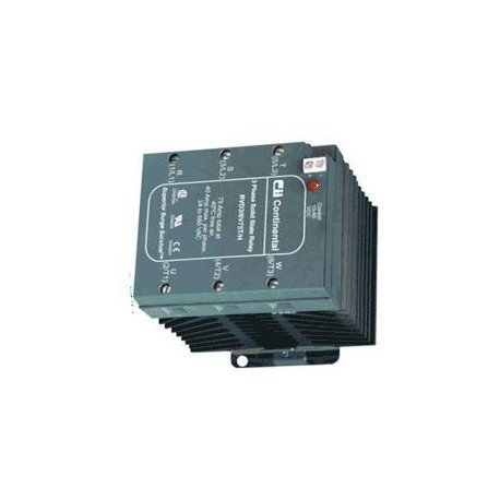 RVD3 6V75T/L Continental DIN Rail Three Phase Solid State Relay