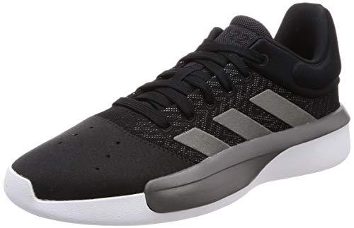 adidas Pro Adversary Low 2019, Zapatos de Baloncesto para Hombre, Negro (Core Black/Grey Four F17/Ftwr White Core Black/Grey Four F17/Ftwr White), 43 1/3 EU