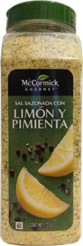 McCormick Gourmet Sal Sazonada Con Limón y Pimienta 737g